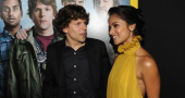 Dilshad Vadsaria praises 30 Minutes or Less co star Jesse Eisenberg