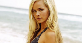 Isabel Lucas joins husband at sea