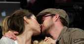 Justin Timberlake and Jessican Biel in rare public display of affection at Met Ball