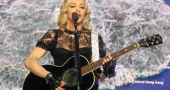 Madonna wants a knight in shining armour