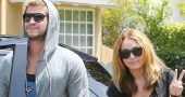 Miley Cyrus Suffers Bad Skin Day As She Visits Liam Hemsworth On Set