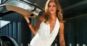 Rosie Huntington-Whiteley out of Transformers 4