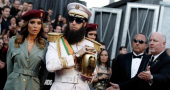 Sacha Baron Cohen Oscars 2012 Kim Jong Il prank does not go down too well with fellow actors