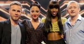 The X Factor UK 2012 judging panel in disarray