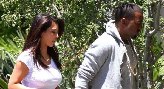 Kim and Kanye have been inseparable lately