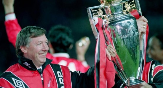 Sir Alex Ferguson in his earlier days