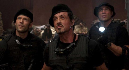 scene from The Expendables