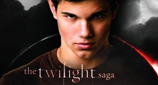Taylor Lautner in Eclipse poster