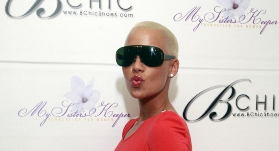 Amber Rose and Wiz Khalifa reveal Amber's due date to be February 24th