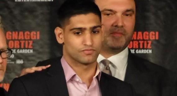 """Amir Khan to face legal action from """"Mystery Man"""" Mustafa Ameen"""