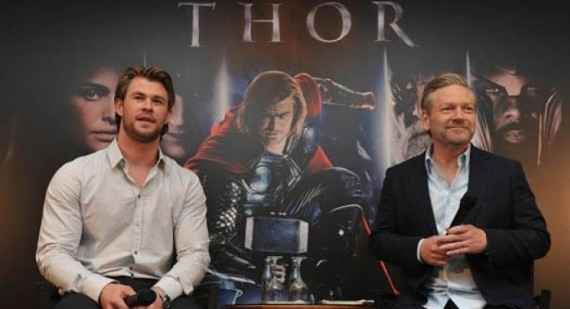 Chris Hemsworth upset at Kenneth Branagh Thor exit