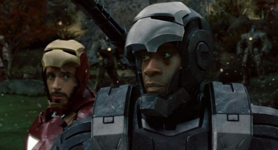 Don Cheadle and Robert Downey Jr. tease Iron Man 3