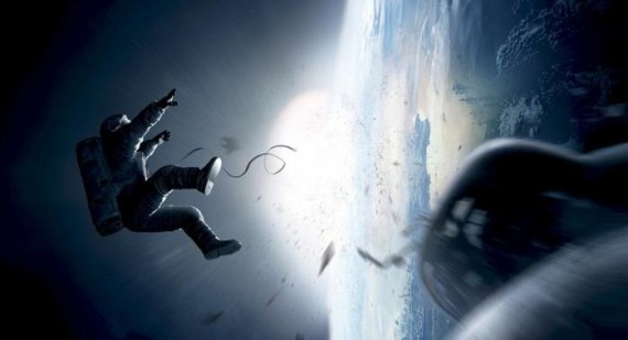 First poster for 'Gravity', starring Sandra Bullock and George Clooney