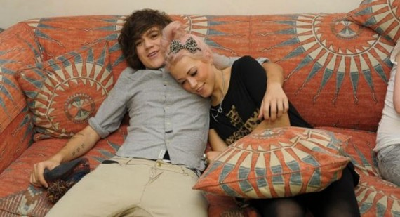 Frankie Cocozza and Amelia Lily NOT a couple