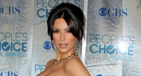 Kanye West In Trouble After Posting Naked Pic Of Kim Kardashian
