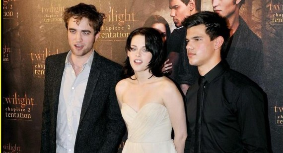 Kristen Stewart prefers to watch films with Taylor Lautner than Robert Pattinson!