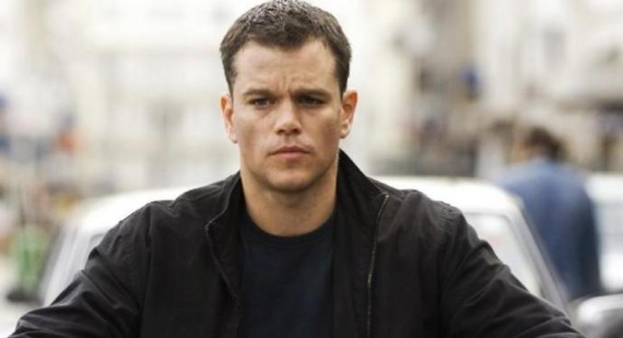 Matt Damon produces interesting I.D. at airport security