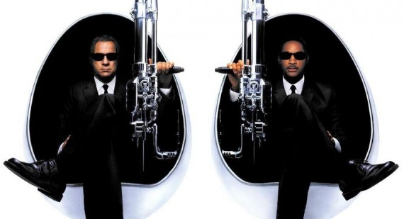 Official Tommy Lee Jones and Will Smith Men In Black III movie poster