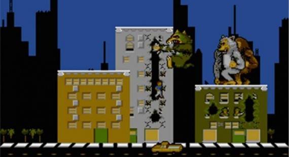 Rampage the game to become Rampage the movie