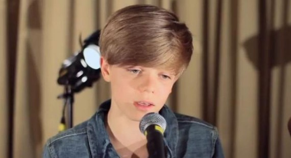 Ronan Parke is the new Justin Bieber, but maybe a better voice?