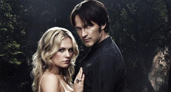 Stephen Moyer and Anna Paquin enjoy True Blood time