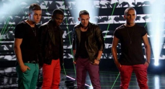 The reason The Risk got eliminated from X Factor