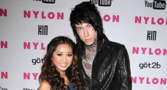 Trace Cyrus gets Brenda Song pregnant rumours