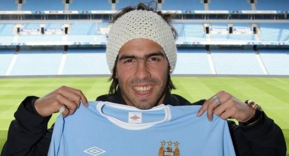 Why did Carlos Tevez refuse to play?
