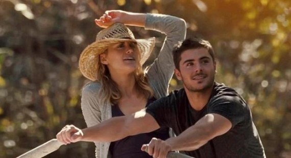 Zac Efron and Taylor Schilling discuss The Lucky One sex scene
