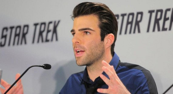 Zachary Quinto talks Star Trek 2 leaked photo