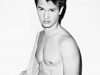 Ansel Elgort's mother embarrasses him in front of Bruce Willis