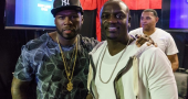 50 Cent and Akon enjoy Knockout Night at the D Casino Hotel