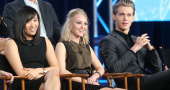Ellen Wong loves working with AnnaSophia Robb and Austin Butler on The Carrie Diaries