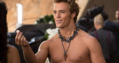 Sam Claflin featured in new shirtless still from 'Catching Fire'
