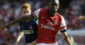 Abou Diaby won't return untll at least March 2014 for Arsenal