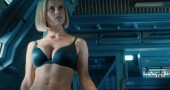 Alice Eve mixing it with Hollywood's finest for new movie Criminal