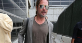 Brad Pitt gray hair for new movie War Machine