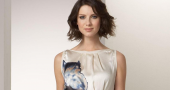 Caitriona Balfe's shows movie star calmness in reaction to Outlander 'super' fans