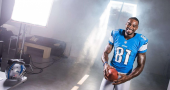 Calvin Johnson ankle injury causes panic in Detroit Lions fans