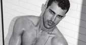 Clint Mauro displays star acting potential in 2015 modelling photos