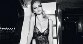Dioni Tabbers shows hot sensual side in Triump lingerie photos