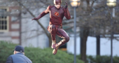 Ezra Miller gets Grant Gustin backing as big screen Barry Allen aka The Flash