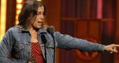 Frances McDormand of 'Almost Famous' filming mini-series for HBO