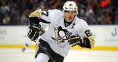 Is Sidney Crosby trying to lead by example by not sitting out practice