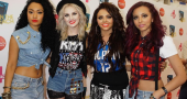 Jade Thirlwall and Perrie Edwards have fun wedding dress shopping