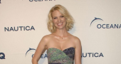 January Jones shines in white outfit at