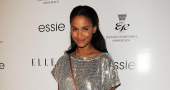 Joy Bryant gets parenting tips from Dax Shepard on Parenthood set