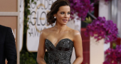 Kate Beckinsale's pink button-up jacket style worthy of fashionista praise