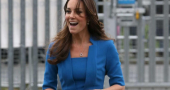 Kate Middleton heavily pregnant but still looking stunning