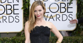 Leslie Mann stuns fans with gorgeous appearance in silver 'Reem Acra' dress